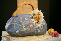 Bag ladies with embroidery