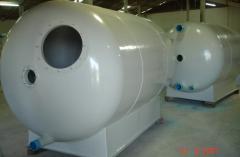 Horizontal Filter Tank