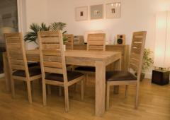 Teak Wood Dining Room Set