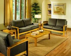 Teak Wood Living Room Set