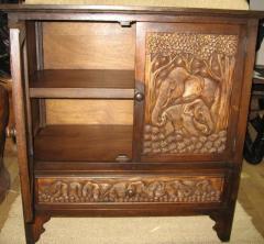 Wooden chest teak