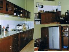 Wooden furniture for kitchen