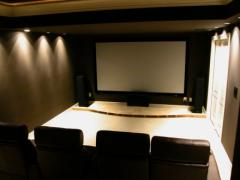 Home theater furniture set
