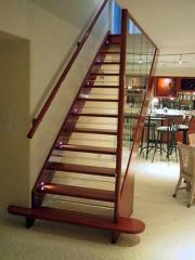 Stair case wooden