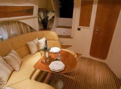 Wooden furniture for ships