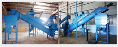 Cooling Screw conveyors
