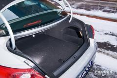 Glass rear car