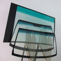 Glass car windshield