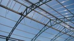 The aluminum beams for roofs
