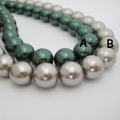 Glass Pearl with Many Colors, Amazing beads