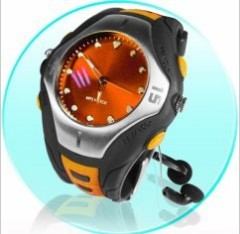 Wrist Watch Mp3 Player 2GB - LINE-IN and MIC