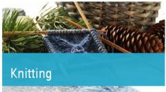 Yarns of knitting