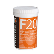 Cafetto F20 Super Automatic Cleaning tablet