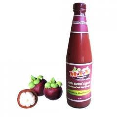 Beverage  mangosteen  with grapes