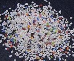 Versatile plastic blast media