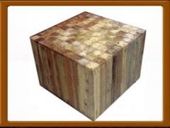 Brick Stool Table