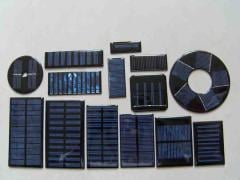 Epoxy sealed solar mini panel