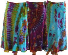 Wrap Skirt Tie Dye