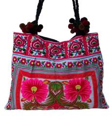 Thai Ethnic Embroidered HMONG Hill Tribe Bag