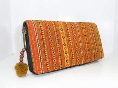 Money purse - Hand Embroidered HMONG Hill Tribe