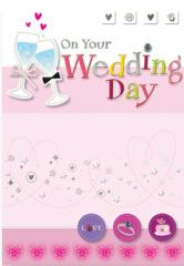 A wedding card 48JW04