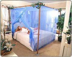 Moomthai Quadrate Mosquito Net - King Size