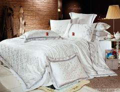 Bed linen and silk cotton