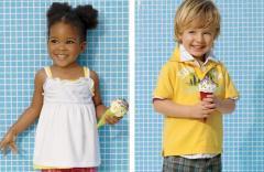 Summer kids wear