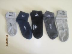 Sports socks average