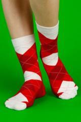 Unisex pattern socks