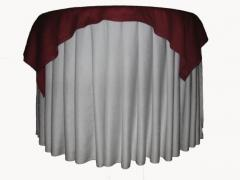 Tablecloth for banquet table Skirting