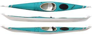 Fiberglass boat sea kayak