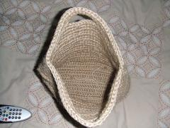Ladies's Handbag from plant fiber