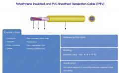 Polyethylene Insulation and PVC Sheathed