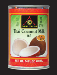 Thai coconut milk 17%