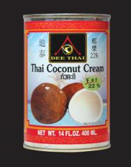 Thai coconut cream 22%