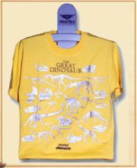 Dinosaurus T-shirt K-093