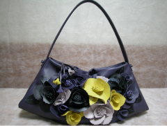 Handbag Multi-Color Flowery 01