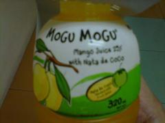 Mango Juice with Nata de Coco