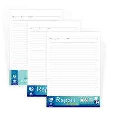 Paper Report Sheet 100 sheets / 2 Holes