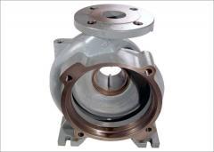Housing pump corrosion abrasive resistant