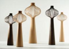 Floor lamp wooden
