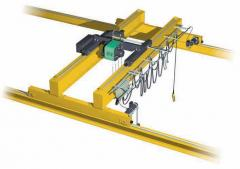 Double Girder Electric Overhead Traveling Cranes