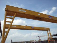 Gantry Crane capacity