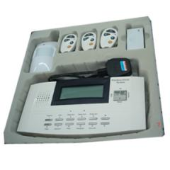 Wireless LCD Voice Home Alarm System