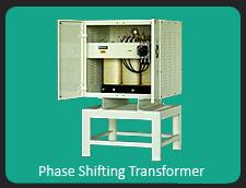 Phase shifting transformer