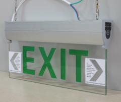 LED  indicators Exit Sign
