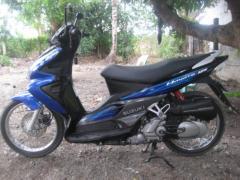Motorcycles city Suzuki Hayate 125