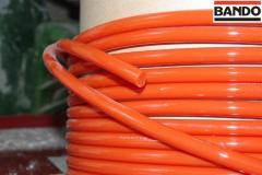 Polyurethane industrial belts round