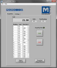 Force Gauges Nex-Data 1.2 Software